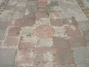 Keltisch kruis, middelpunt van een van de krachtplekken